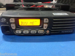Kenwood Tk 8160 Uhf Mobile Radio 450 490 Mhz
