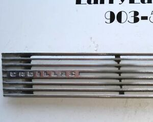 1939 Cadillac And Others Left Driver Hood Side Grill Vent Louver Nice Find