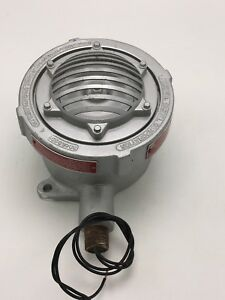 Federal Signal Horn Explosion Proof 41x 24vdc 30 Watts Produces 100 Dba 10