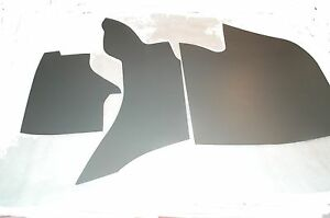 1961 1962 Cadillac Convertible 62 Series Trunk Side Panels 4 Piece Set 61 62