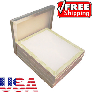 Usa Stock 6pcs 23 X 31 Aluminum Frame Printing Screens With 160 Mesh