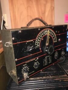 Vintage Signal Generator Powers Not Tested Unknown Model