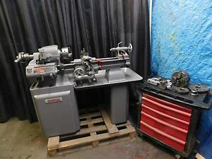 Sheldon 10 x26 Tool Room Lathe W 3 4 Jaw 5c Clt stdy 10 south Bend Type Xnice