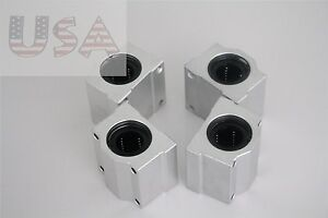 Sc25uu Scs25uu 25mm Linear Ball Bearing Linear Motion Bearing Slide 4 Pcs