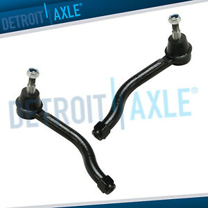 2 Front Outer Tie Rods For 2009 2010 2011 2012 Nissan Maxima Altima 11 12 Murano
