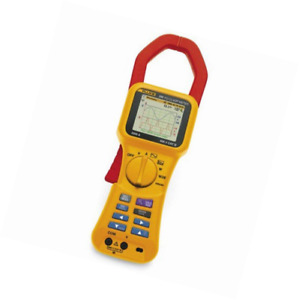Fluke 345 Power Quality Clamp Meter Lcd Display 3 Degrees Accuracy 0 001 R