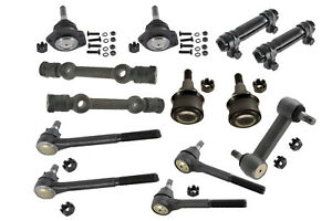 Suspension Kit Tie Rods Ball Joints Idler Arm Control Arm Shafts For C20 75 82