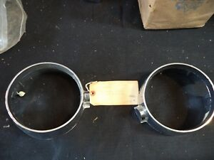 Oem 1965 Buick Electra 225 Outer Inner Headlight Bezels Rh Police Wildcat Lesabr