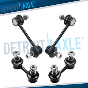 Front Rear Sway Bar End Link Set For Chevy Geo Prizm Toyota Corolla Celica