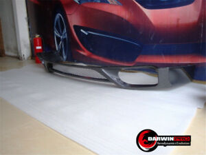 2009 2011 Gtr R35 Oe Style Carbon Fiber Rear Diffuser Lip For Nissan Gtr Cba