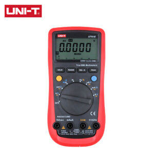 Uni t Ut61a b c d e Digital Multimeter True Rms Peak Value Rs232 Ac dc Meter
