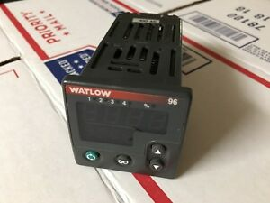 Watlow 96a1 fddm dcrg Temperature Controller Tested Warranty