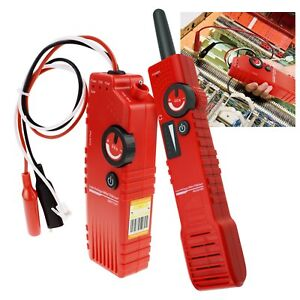 Coax Cable Tracker Anti jamming Underground Detector 110v Tester Electrical Wire