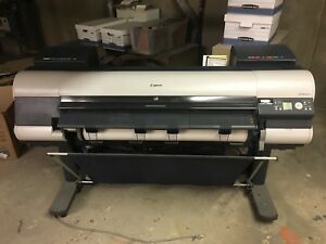 Canon Ipf8000 Large Format Color Inkjet Printer