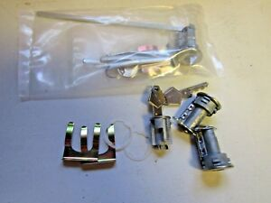 Mopar 66 67 68 Charger Satellite Coronet Dart Ignition Door Trunk Lock Set New