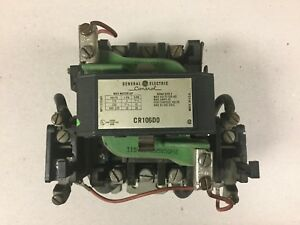 General Electric Ge Cr106d0 Size 2 Motor Starter With 115 Volt Coil