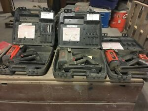 Ramset red Head Trakfast Tf1100 Nail Guns With Cases