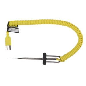 50209 Coiled Cord Microneedle Thermocouple Probe