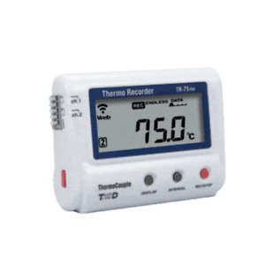 Tr 75nw Lan Connected Dual Input Thermocouple Data Logger