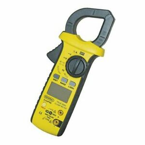 Damp68 Rugged Hvac True Rms Amp Clamp Meter W thermometer