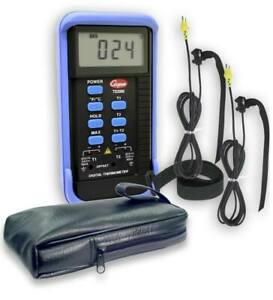 Td2000 02 2 zone Thermocouple Thermometer Kit
