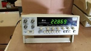 Lg Fg 7002c Sweep function Generator Powers Up