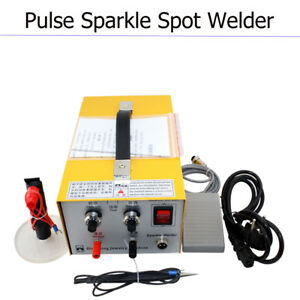 Usa Pulse Sparkle Spot Welder Electric Jewelry Welding Machine Gold Silver Tool