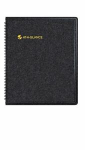 At a glance 2014 Monthly Planner Black 8 48 X 10 38 X 50 Inches 70 130 05