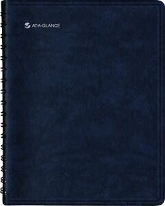 At a glance 2014 The Action Planner Daily Appointment Book Black 7 75 X 9 13 X
