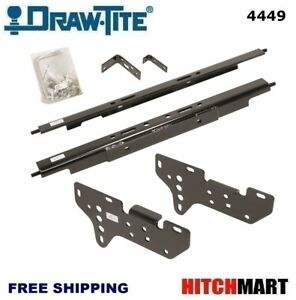 Under Bed Mounting Rail Kit For Under Above Bed Gooseneck Trailer Hitch 4449