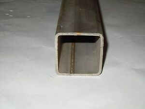 Stainless Steel Square Pipe Tubing 2 x 2 X 120 X 12 Gr 316 Sold By The Foot