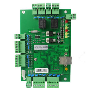 Tcp ip Network Access Control System Board Panel Entry Controller 2door 4reader