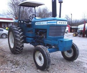 Ford 6700 Tractor 2 Owner Can Ship 1 85 Loaded Mile