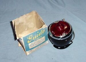 Nos Buick Guide Vintage Antique Tail Light 1933 1934 1935