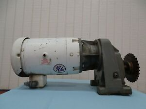 Baldor Vwdm3710t Electric Motor 7 hp 1725rpm 3ph W series 2000 Reducer 4 94