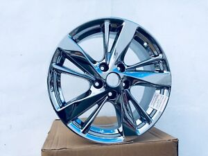 4 New Nissan Altima Pvd Chrome 17 Inch Brand New Oem Factory 62593