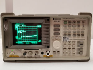 Hp 8593e Spectrum Analyzer 22ghz With Opt 041 119 130