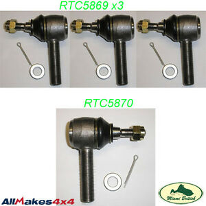 Land Rover Steering Tie Rod End Set Discovery Defender Range Classic Mr0031 Allm
