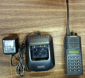 Kenwood Tk 380 Uhf Full Keypad Portable Radio