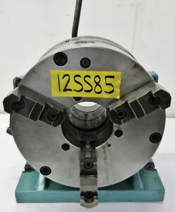 Bison 12 Super Spacer 24 Division Master Plate W 3 Jaw Chuck 7 609 012