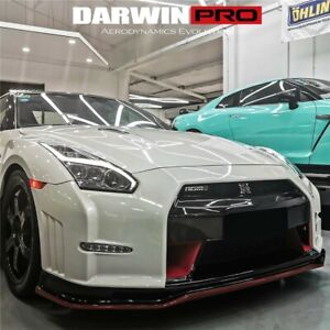 2008 2016 Gtr R35 Nsmo Style Part Carbon Fiber Front Bumper Body Kit Cba Dba