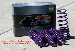 Toyota Corolla S Ce Trd D Sp To 28 1 D2racing Lowering Springs Suspension Coil
