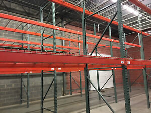 Used Warehouse Racks Uprights Beams Wire Decks Very Good Condition 5000 Obo
