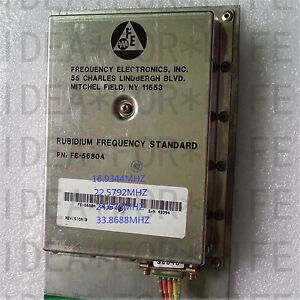 Used Good Original Fe 5680a Output 11 2896mhz Rubidium Atomic Frequency Standard