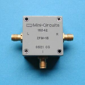 1pcs Used Good Mini circuits Zfm 15 10 3000mhz Sma Microwave Coaxial Mixer