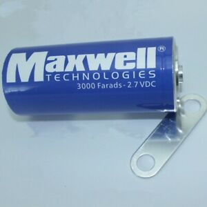 New Usa Maxwell 2 7v3000f Super Capacitor K2 2 7v 3000f connecting Piece G721 Xh
