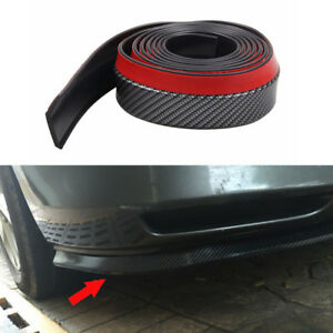 Carbon Fiber Car Front Bumper Quick Lip Splitter Body Spoiler Skirt Protector