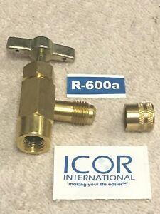 Icor International Inc R600a Can Taper Made For Icor R600 Cans Hc Vlv R600cap