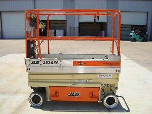 Jlg 1930es Scissor Lift Year2008 19 Feet H X 30 Inches W 19 H Electric