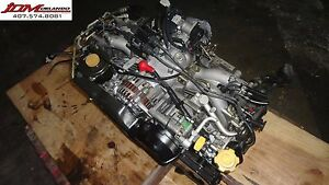 99 04 Subaru Legacy 2 0l Sohc H4 Replacement Engine Jdm Ej251 Ej201